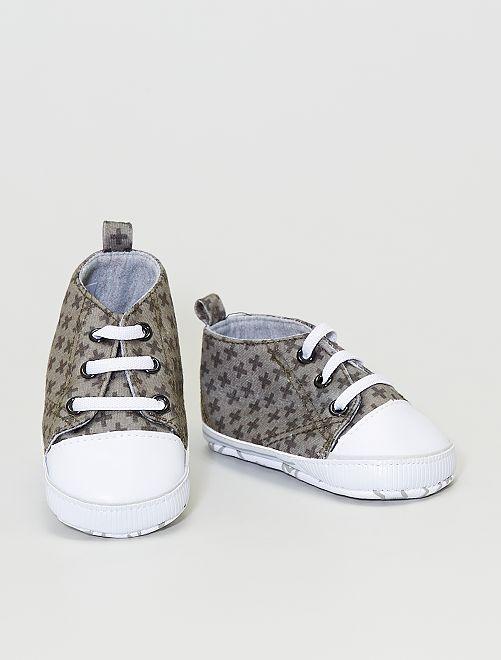 Zapatillas estampadas                                                     kaki
