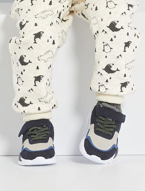 Zapatillas estilo running                             azul navy