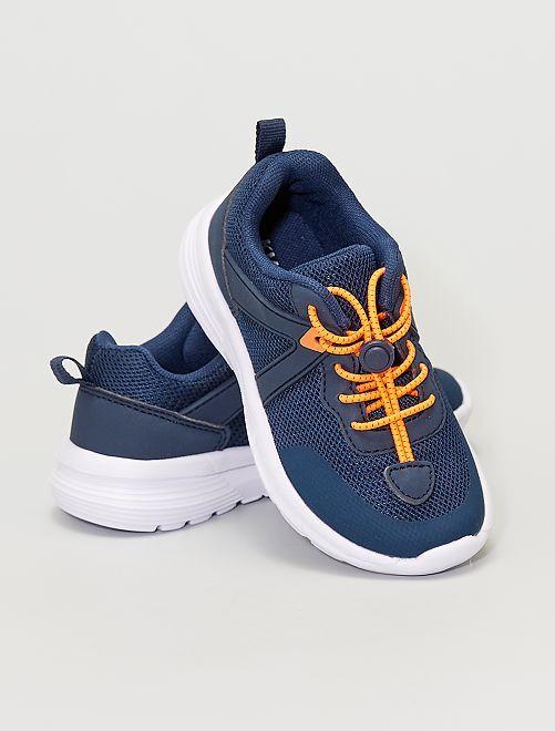 Zapatillas fáciles de poner                                         azul navy