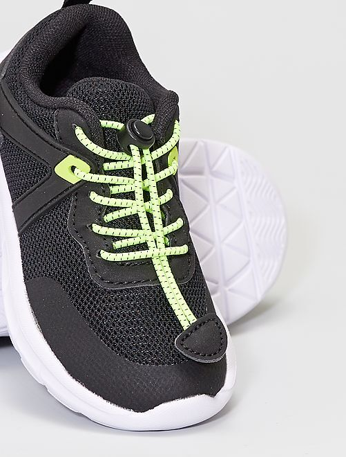 Zapatillas fáciles de poner                                         negro