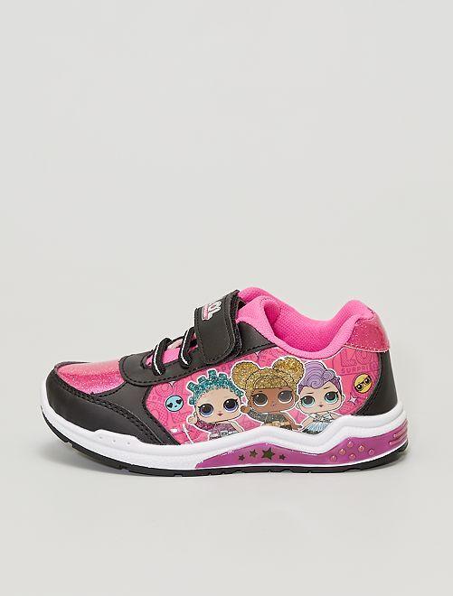 Zapatillas 'LOL Surprise'                             negro/rosa