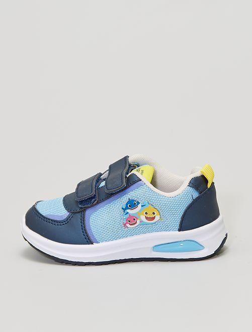 Zapatillas luminosas 'Baby Shark'                             azul