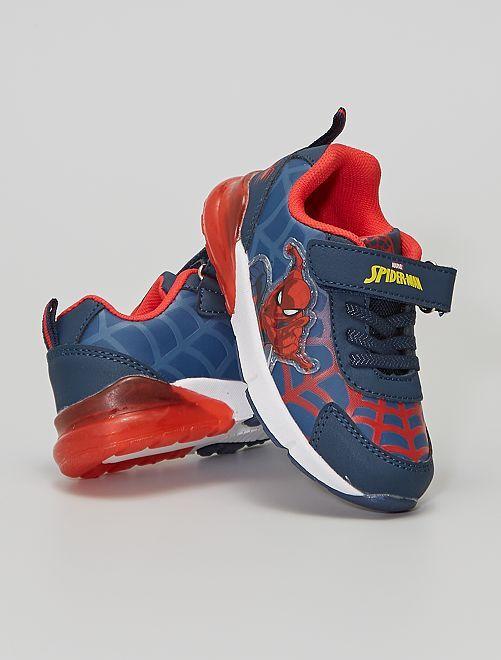 Zapatillas luminosas de 'Spider-Man'                             azul navy