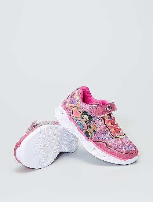 Zapatillas luminosas 'L.O.L. Surprise!'                             rosa