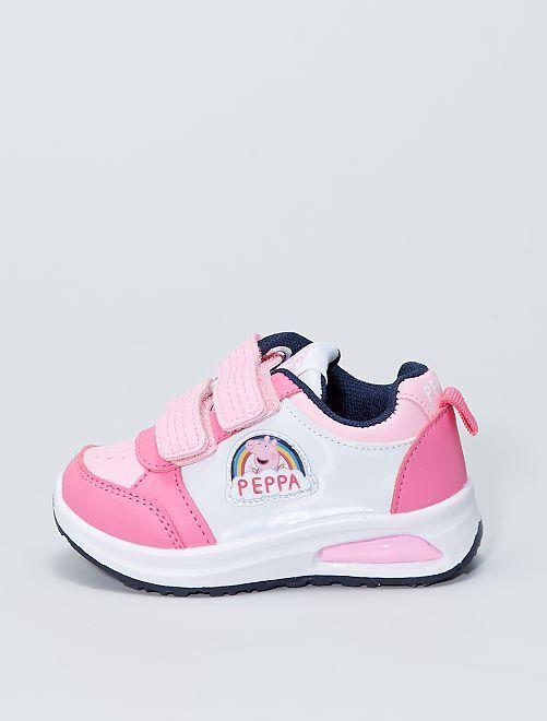 Zapatillas luminosas 'Peppa Pig'                             ROSA