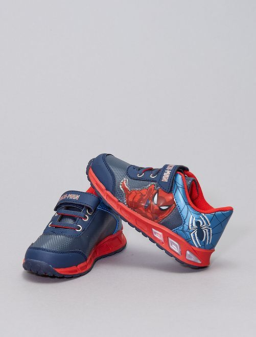 Zapatillas luminosas 'Spider-Man'                             azul navy