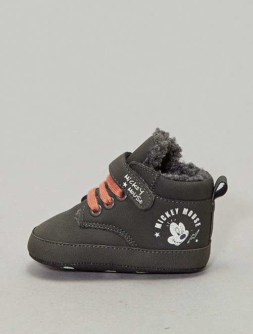 Zapatillas 'Mickey'                             GRIS Bebé niño