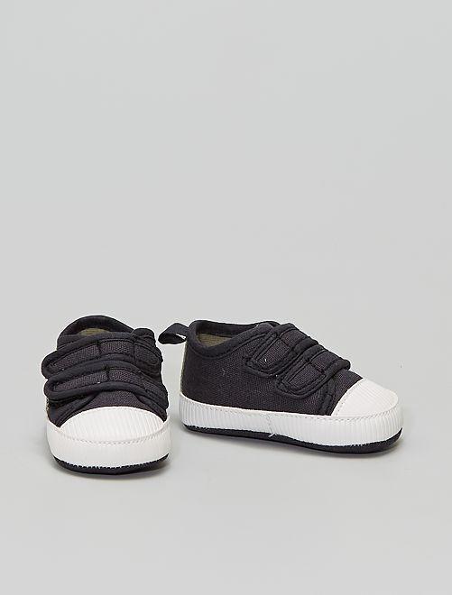 Zapatillas 'Mickey'                             NEGRO