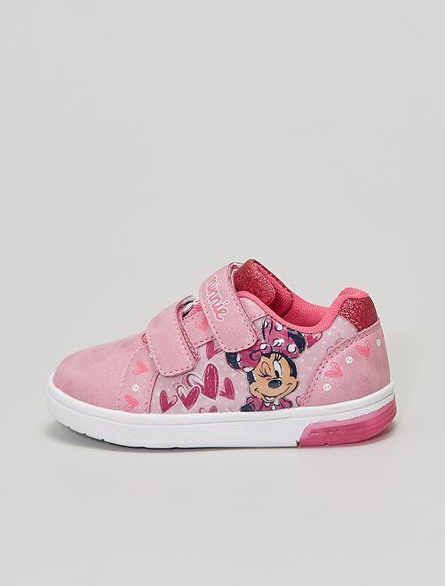 Zapatillas 'Minnie' con suela luminosa                             ROSA
