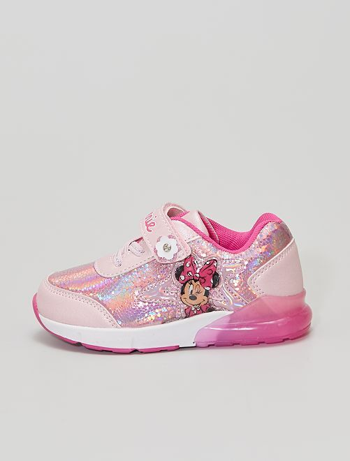 Zapatillas 'Minnie' 'Disney' luminosas                             ROSA