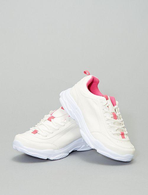 Zapatillas modernas de estilo deportivo                             PURPURA