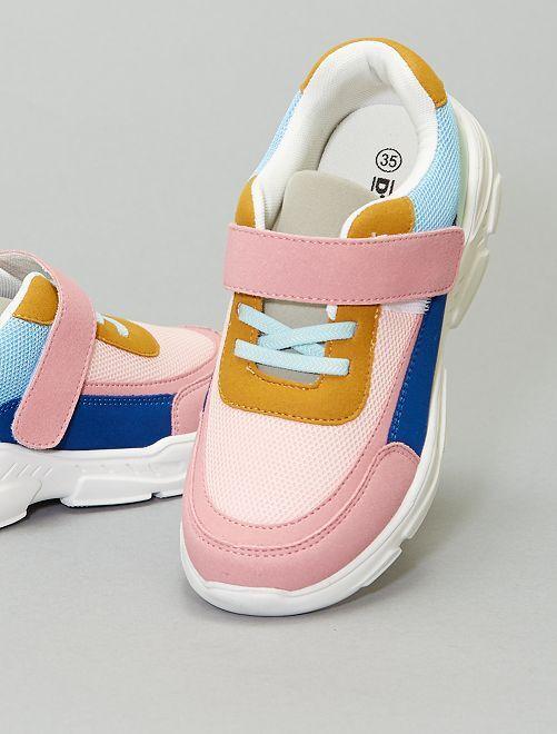 Zapatillas multicolores                             ROSA