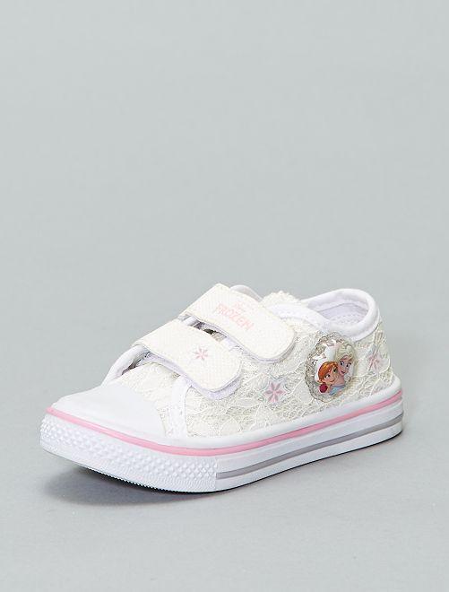 Zapatillas 'Princesa Disney' de 'Disney'                             BLANCO Chica