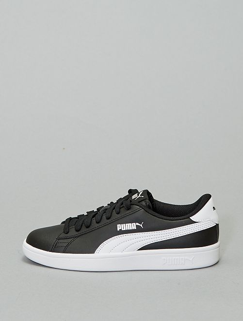 Zapatillas 'Puma' 'Smash v2 L Jr'                             BEIGE
