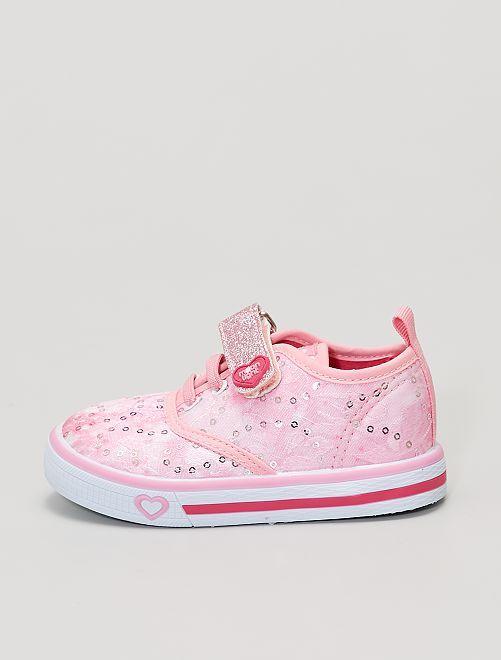 Zapatillas                             rosa