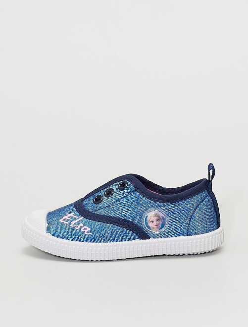 Zapatillas sin cordones de 'Frozen' de 'Disney'                             azul