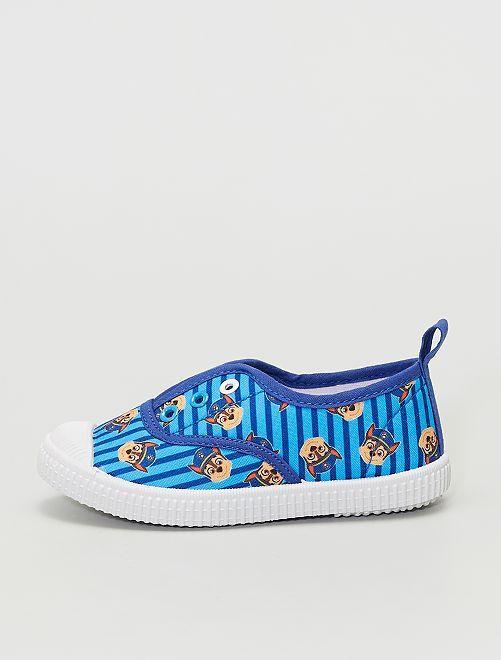 Zapatillas sin cordones de tela 'La Patrulla Canina'                             azul