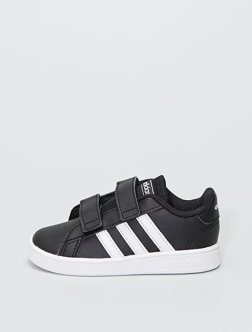 Zapatillas sintéticas 'Adidas Grand Court 1'                             NEGRO
