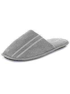 Hombre Zapatillas tipo chinelas lisas