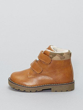 Zapatos altos de piel sintética - Kiabi