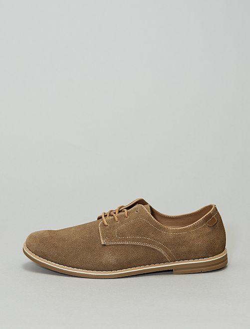Zapatos de antelina                             BEIGE