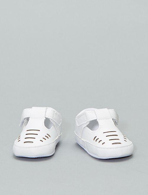 Zapatos de fiesta                                                                 calado blanco Bebé niña