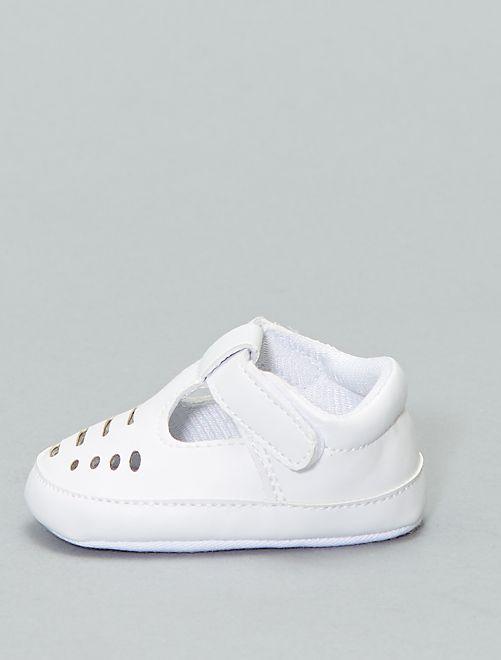 7f23a5f443f4f Zapatos de fiesta Bebé niña - calado blanco - Kiabi - 7