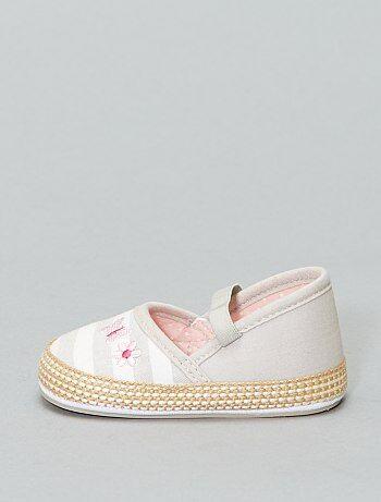 ff30b0009 Niña 0-36 meses - Zapatos de parque tipo manoletinas - Kiabi