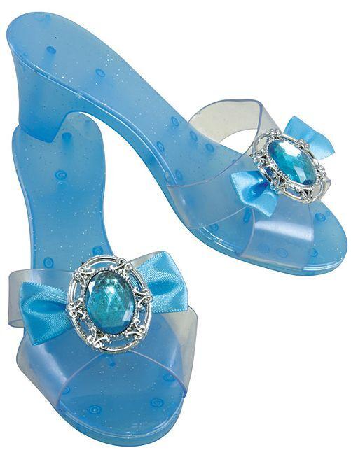 Zapatos de princesa                                         azul