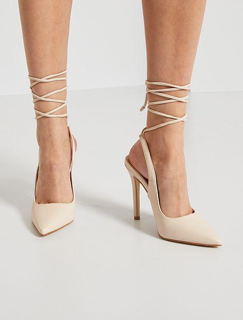 Zapatos de tacón altos                             BEIGE