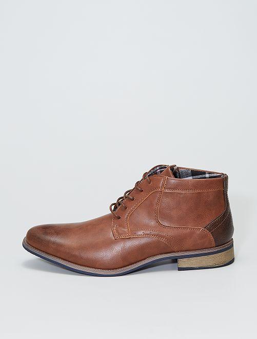 Zapatos de vestir altos                             castaño