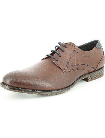 Zapatos de vestir de piel sintética - Kiabi