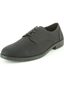 Hombre Zapatos de vestir negros de piel sintética