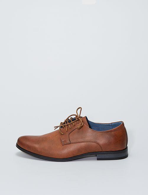 Zapatos de vestir sintéticos                             BEIGE