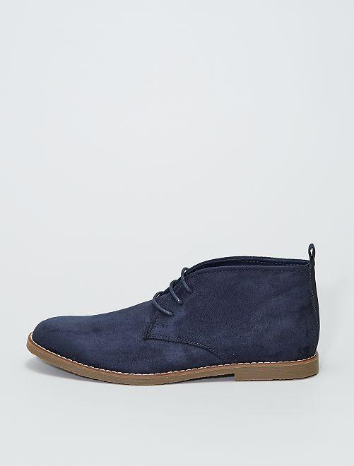 Zapatos de vestir tipo botines                             azul navy