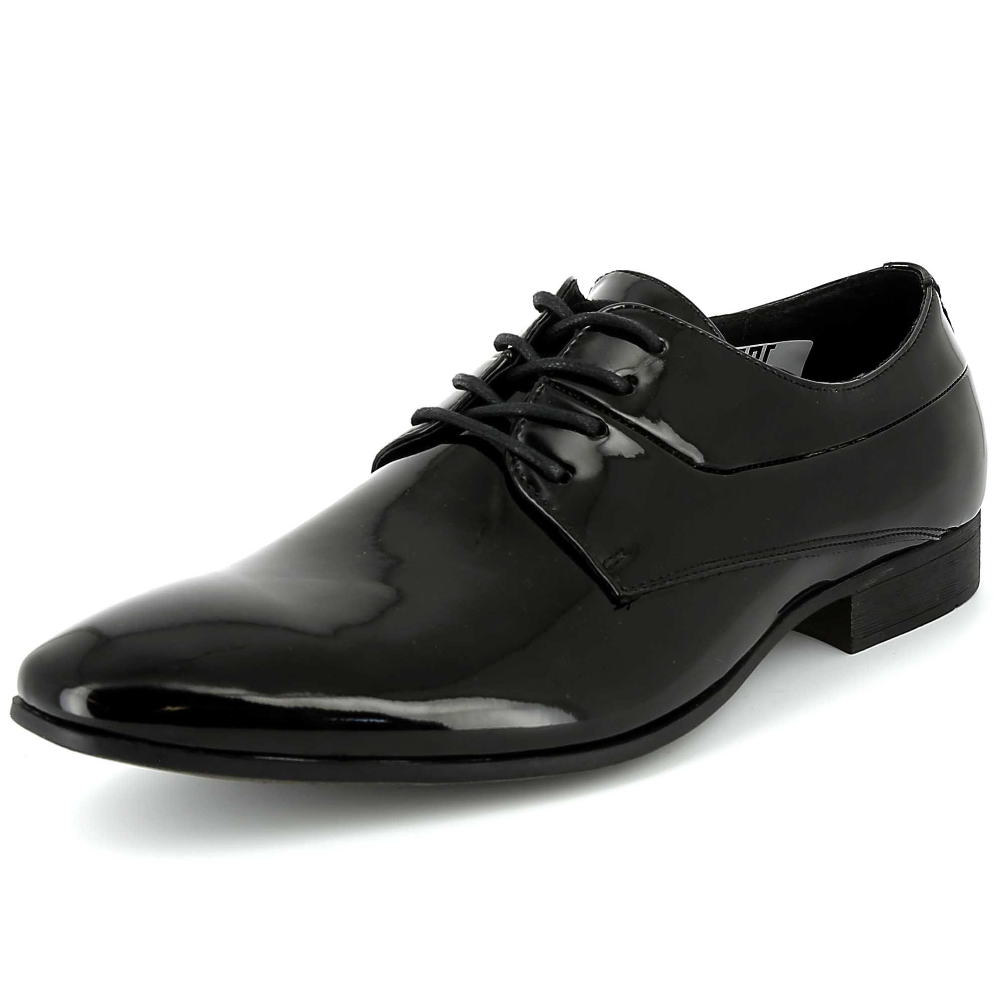Zapatos oxford de charol hombre kiabi 30 00 - Charol zapateria ...