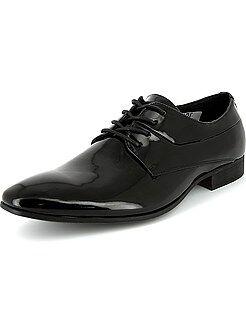 Zapatos Oxford de charol