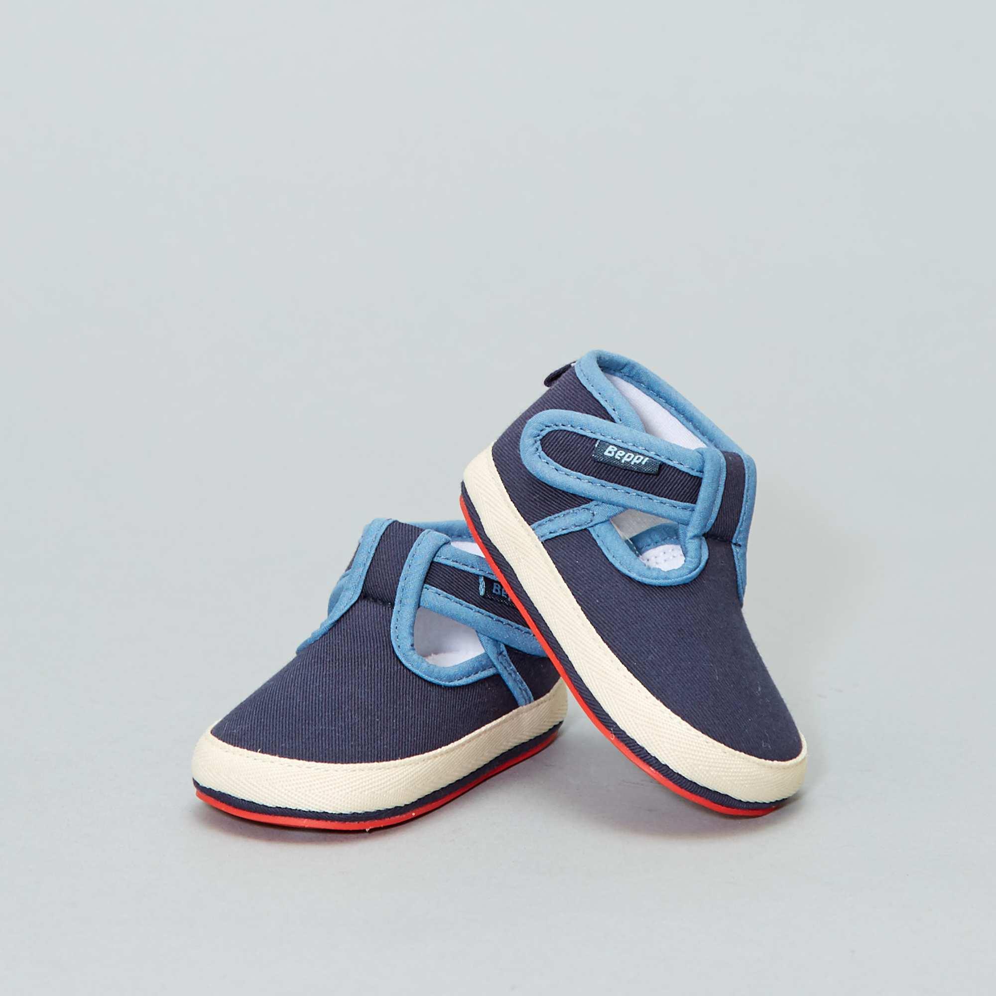 fe23bd237 Zapatos para el parque de tela Bebé niño - AZUL - Kiabi - 12