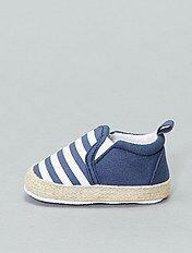 azul KIABI Alpargatas con motivos Infantil niño Sandalias
