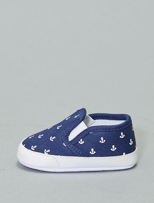 Zapatos tipo slip-on                                                                 azul marino